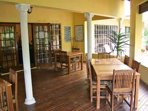 Ontbijt in je guesthouse - St Lucia